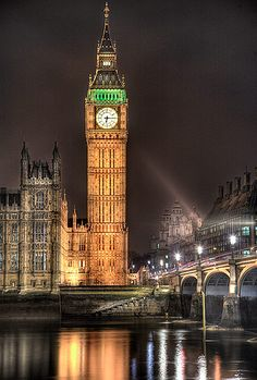 Clock Tower, Palace of Westminster, London, United Kingdom, is a symbol for London as well as an icon for the British way of life