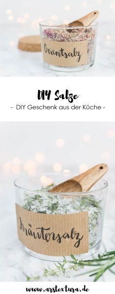 DIY Kräutersalz und Gewürzsalz | DIY Geschenk aus der Küche | ars textura DIY Blog