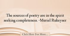 Muriel Rukeyser Quotes About Poetry - 54621