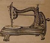 The Jones Cat-Back sewing machine of 1880. Around London it was also fondly named after the shape of the Serpentine in London.