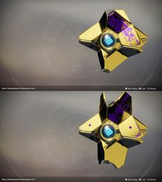 Personal Drone Destiny Ghost Color Render By David Stammel On