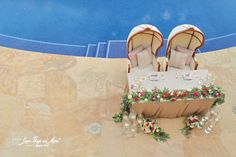 Los Cabos Wedding Planners, Creative Destination Events is more than just another Cabo wedding planning company. among the best wedding planners mexico Romantic Dinner For Two, Romantic Dinners, Luxury Villa, Destination Wedding, Wedding Decorations, Bride, Linens, Heart, Sweet