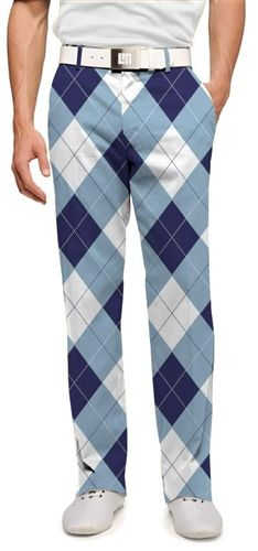Men's Loudmouth New York Yankees Argyle Pants Mens Golf Outfit, Golf Attire, White Man, Navy And White, Loudmouth Golf Pants, Golf Fashion, Mens Fashion, Style Fashion, White Pants Men