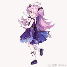 Kawaii Art, Kawaii Anime Girl, Character Inspiration, Character Design, Bear Gif, Anime Artwork, Awesome Anime, All Anime, Anime Outfits