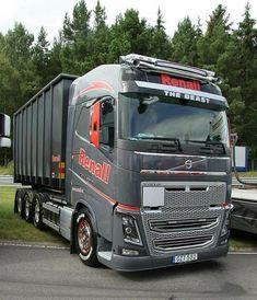 Volvo Trucks, Lifted Trucks, Big Trucks, Dump Truck, Toys For Boys, Big Boys, Mustang, Vehicles, Awesome