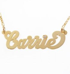 """Here's how the """"Carrie"""" Sex and the City necklace came to be."""