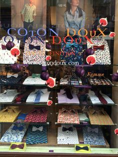 Shirts. Colour. Pattern. Coton Deux. Paris.