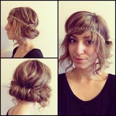 Great Gatsby Hairstyle | Gatsby hairstyles and Gatsby