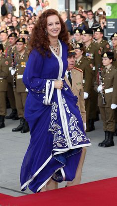 Princess Lalla Salma of Morocco ~ Guillaume and Stephanie wed in a glorious ceremony full of pomp and grandeur - Picture 13