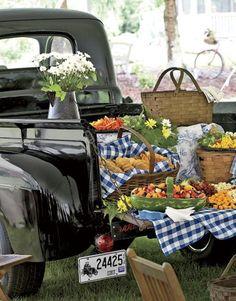 :) Also great FARMER'S MARKET setup!