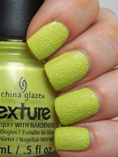China Glaze Texture Collection: In The Rough