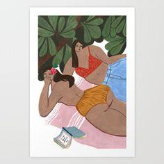 Summah! Art Print