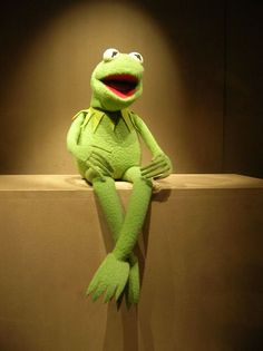 Kermit the frog here. Hello, ladies.gotta love a guy who can pull off uninterrupted green.
