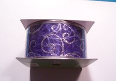 Michaels celebrate it wired edge ribbon 2 1 2 in x 45 feet blue and