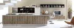 cucina e soggiorno mobile unico - Cerca con Google