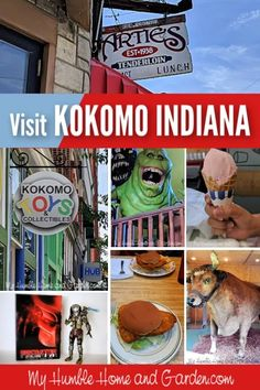 Kokomo, Indiana - Interesting Places - Things To Do With Kids - My Humble Home and Garden. Click through for some great udeas for a quick trip. Kokomo Indiana, Predator Action Figures, Stuff To Do, Things To Do, Local Attractions, Stop Motion, Toy Store, Travel With Kids, Day Trips