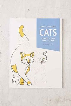 Dot-To-Dot Cats: Connect Your Way To Calm By Karine Naye - Urban Outfitters