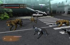 Top Survival Action Games-Tokyo Jungle