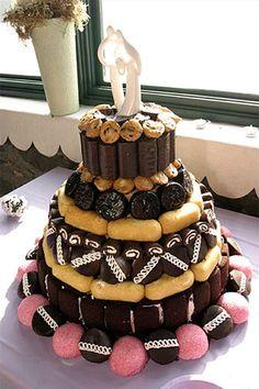 buena idea para el pastel