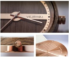 WATCHES CRAFTED FROM WOOD AND STEEL WITH A MARITIME TOUCH by VEJRHØJ Watches — Kickstarter