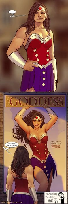 I'm going to be remembering this with the next Wonder Woman in the Superman/Batman movie.