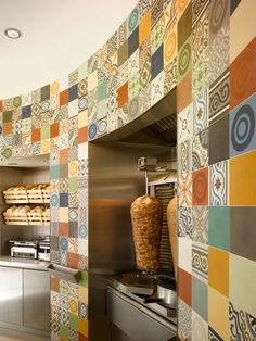 The Doner Company by Concrete, Leiden   Netherlands store design