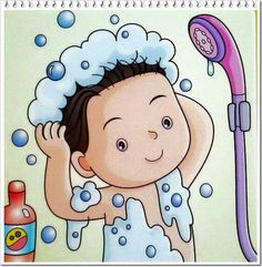 Terrific Photo daily routine children Style Your daily routine consists of all your habits.These actions structure your day and make the differe Daily Routine Activities, Preschool Activities, School Clipart, Action Words, School Decorations, Personal Hygiene, Kids Education, Kids And Parenting, Teaching Kids