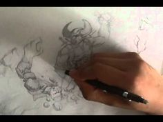 How to Draw Battle Scene  #sketchmonster  #coolstufftodraw   #howtodrawcoolthings  #funthingstodraw    #fantasyart