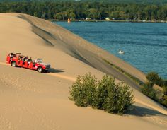 Photo courtesy of Silver Lake Sand Dunes - Hart Visitors Bureau
