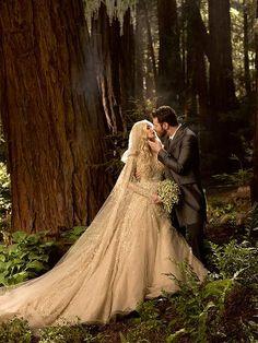 Alexandra and Sean Parker Wedding Photo