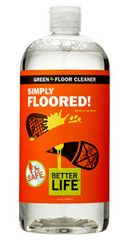 SIMPLY FLOORED! Best all-surface. One shining solution for every floor in your home, this nontoxic champion tackles scuffs, smudges, and stains on hardwood, tile, laminate, bamboo, and even marble. NO RINSING REQUIRED!