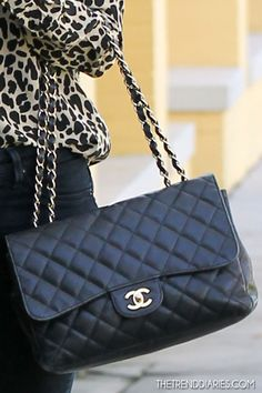 Chanel classic jumbo flap