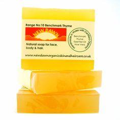 Benchmark Thyme Organic Soap  Handmade Soap  by NewDawnOrganicSkin