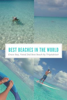 Grace Bay was TripAdvisor's 2nd best beach in the world for 2017. Millions of people voted on this so this is a great honor for Turks and Caicos.