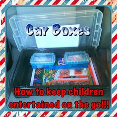 How to keep kids entertained on the go