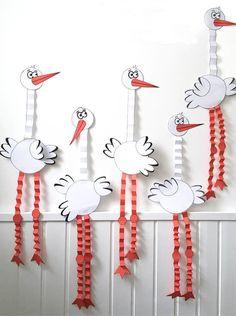 Animal Crafts For Kids, Diy Crafts For Kids, Projects For Kids, Bird Crafts, Easter Crafts, Decor Crafts, Birthday Emoticons, Cardboard Animals, Victoria Art