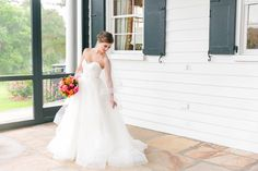 Dana Cubbage Weddings | Charleston SC Wedding Photography | Katie // Rainy Day Bridal Portraits at the Legare Waring House