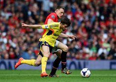 Fabio Borini of Sunderland and Phil Jones of Manchester United... ニュース写真 487982409