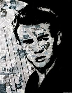 Hollywood Graffiti - James Dean