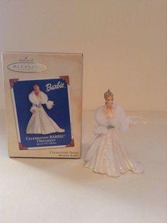 Hallmark Keepsake 2003 Celebration Barbie Special Edition Christmas Ornament