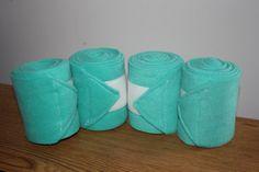 Mint Green Polo Wraps, Set of Four Leg Wraps - pretty!