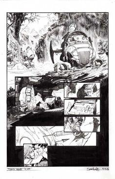 Tokyo Ghost Issue 4 p.20 by Sean Gordon Murphy