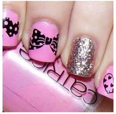Silver & Pink :)