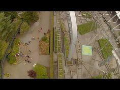 Typhoon - Roller Coaster - On Ride - Bobbejaanland - HD