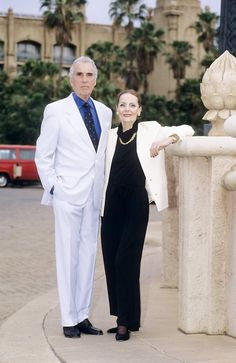 Born to be a Christopher Lee Fan — christopherleefan:  Christopher Lee with his wife...