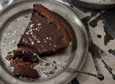 Torta de chocolate com flor de sal - Receita de © Ulrika Ekblom / StockFood