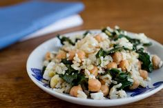 Naturally Ella | Swiss Chard and Chickpeas