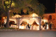 Pienza hamlet #evening marquee #weddingreception