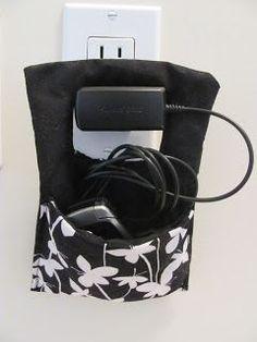 Maak je eigen hangtasje voor tijdens het opladen van je mobiel!