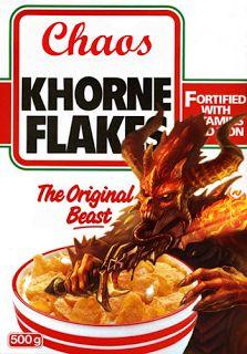 40k - Khorne Flakes